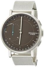 Skagen SKT1113 Men's Hybrid Smartwatch 42mm Gray Dial Steel-Mesh Watch