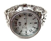 Mens Fashion Watch Ice Master BM1164 Silver Bracelet Band Mens Casual Watch 1ATM