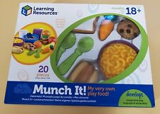 Learning Resources New Sprouts Munch It Pretend Play Food, Toddler Outdoor Toys
