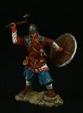 Tin soldier, Collectible, Runecraft: Attacking Viking, IX-X cc., 54 mm, Medieval
