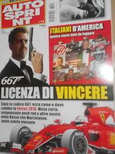 AutoSprint 2016 1-2#Ferrari 2016,Mario Andretti,Massimiliano Papis,Max Angelelli