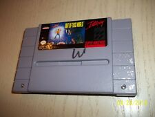 Out of This World (Super Nintendo Entertainment System, 1992) LOOK BUY IT NOW