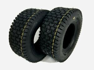 13x5.00-6 TURF TYRES x2 Ride On Lawn Mower Garden Tractor 13x500-6 Tyre TUBELESS