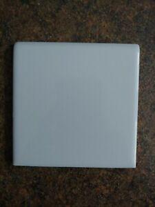 "American Olean USA S-4449 pastel blue 4 in bullnose Ceramic Tile 4.25"""