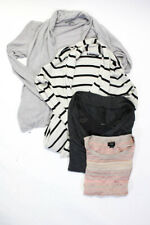 Heather Cotton By Autumn Cashmere Deletta Womens Sweaters Size Medium Large Lot