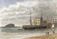 CAPTAIN JOHN HENRY HOWARD Watercolour Painting OFF KNIGHTSTONE WESTON-SUPER-MARE