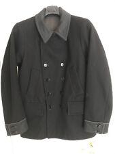 Stone Island Denims Double Breasted Men Wool Jacket Coat Size L