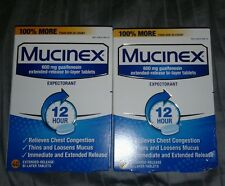 80 Mucinex 600mg Extended Relief Tablets
