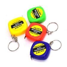 Mini Retractable Ruler Tape Measure Key Chain Pocket Size Metric 1m/328F Sale SH