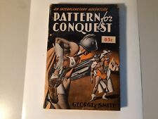 RARE Gnome Press KOREAN War Edition PATTERN OF CONQUEST in very good Paper wraps
