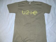 U2 IE Innocence + Experience Tour T-Shirt ~ Olive Green - Size Large