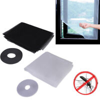 Magnetic Window Mesh Net Door Curtain Prevent Mosquito Bug Scree Insect Fly L4R1