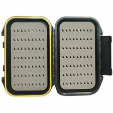 Fishing Fly Box Floats Waterproof Storage Wheatley Box Tackle Flie Dry Floatable