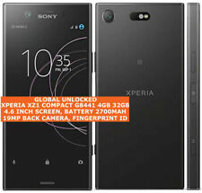 """SONY XPERIA XZ1 COMPACT G8441 4gb 32gb 19mp Caméra 4.6"""" Android Lte Smartphone"""