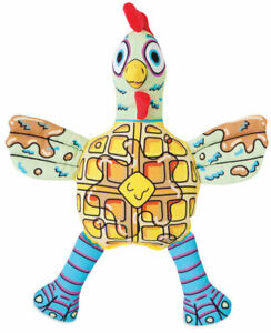 Chicken N Waffles Fat Cat Foodies for Dog Toy soft squeaky food shaped