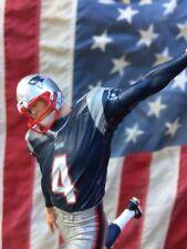 New England PATRIOTS Tap Handle Adam Vinatieri Beer Blue Jersey Boston Football