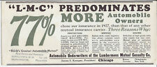 77% MORE AUTOMOBILE OWNERS CHOSE OUR INSURANCE IN 1927,THEN THAT OF ANY OTHER