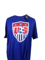 Nike US National Soccer T-Shirt Blue, Multiple Sizes, crew neck, NWT, World Cup