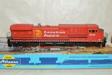 HO scale Athearn Canadian Pacific Ry CP Beaver GE AC4400 locomotive train