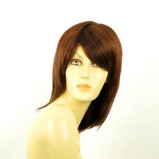 Peluca mujer mediano cobre de color marron oscuro AXELLE 33H  PERUK