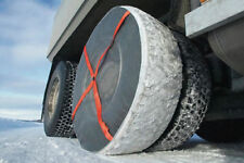 Installed Once Autosock Snow Sock Set Peterbilt Kenworth Freightliner