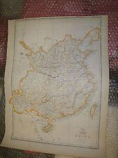 China Hainan Formosa DISPATCH ATLAS 1863 map engraved Edward Weller Framed20more
