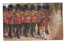 Artist-signed Harry Payne THE COLDSTREAM GUARDS Tuck's  Postcard