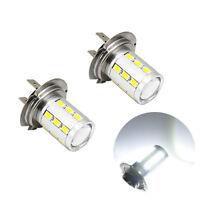 2 ampoules à LED avec lentille 5630 pour les anti-brouillard en feux de jour  H7