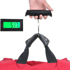 50kg/10g Digital LCD Travel Portable Scale Electronic Luggage Bag Weight Hook