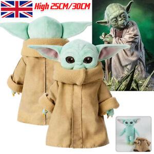 Wholesale 25/30CM Baby Yoda Plush Toy The Mandalorian Cute Stuffed Doll Gift