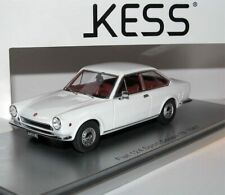FIAT 124 SPORT COUPE 1S 1967 WHITE KESS KE43010111 1/43 WEISS BIANCA 250 PieCeS