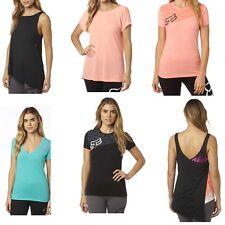 Fox Racing Womens T-Shirts Tops S/S Shirt Tee Tank Top Singlet Size XS-XL
