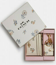 COACH Boxed Mini Skinny Id Case And Picture Frame Bag Charm Set 2670