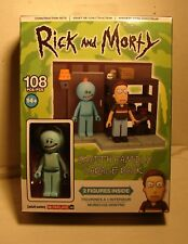 McFarlane  Rick & Morty  SMITH GARAGE RACK   CONSTRUCTION SET 108 pieces