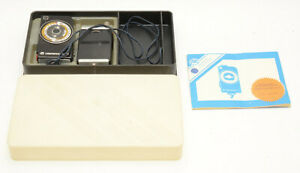 Soviet CdS Sverdlovsk-4 Exposure Meter w/ Plastic Case & Manual! Good Condition!