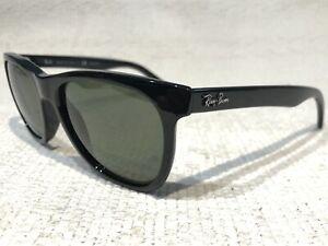 RAY BAN RB4184 Polarized 601/9A black Sunglasses 601/9A 54-17 3P Italy