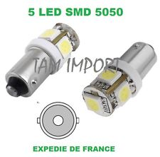 2 AMPOULES LED IVECO DAILY I  DAILY III  BA9S T4W 5 SMD BLANC 6000K