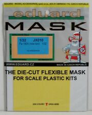 Eduard 1/32 JX010 Canopy Mask for the Hasegawa Focke Wulf Fw190A (new tool) kit
