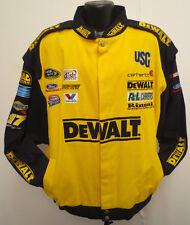 DEWALT 2XL JACKET VINTAGE COTTON TWILL NASCAR POWER TOOLS CONSTRUCTION RACING