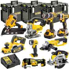 DeWalt DEWT4TKIT17 18V Li-ion 9pcs KIT with 2 x 5.0Ah Batteries Charger & Case