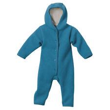 disana Baby Walk Overall blau Gr. 74/80 Kapuze Schurwolle KBT