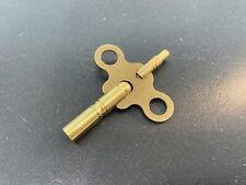 Gilbert Anitique Clock Key Brass Double End New
