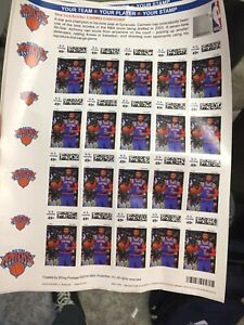 Carmelo Anthony stamps