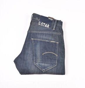 28639 G-Star Arc 3D Locker Konisch Blau Herren Jeans Größe 33/32