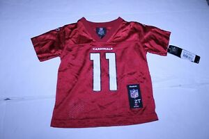 Toddler Arizona Cardinals Larry Fitzgerald 2T NWT Jersey (Red) Reebok