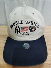 World Series Hat 2001, AMERICAN FLAG, Yankees vs Arizona Diamondbacks