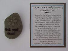 x Get Well Soon PRAYER FOR A SPEEDY RECOVERY stone Ganz healing surgery