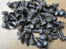 """(50) 5/16"""" x 7/8"""" 8MM SELF TAPPING BOLTS FLANGE HEX HEAD BODY BOLTS FENDER BOLTS"""