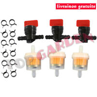 3x Robinet d'essence Carburant Kit Briggs & Stratton 494768 493960 698183 491860