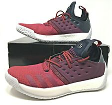 Adidas Harden Vol 2 'Ignite' Mens Basketball Shoes Red/Burgundy Size 13.5 AH2124